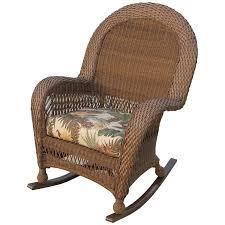 Cane Rocking Chair Longboat Key Casa Del Mar Wicker High Back Rocker Wicker Com