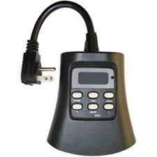 woods outdoor 24 hour photoelectric timer with wireless remote