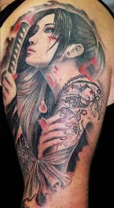 katana heroine leonidas lonis tattoo u2022 perfect tattoo artists