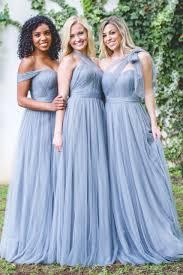 convertible bridesmaid dresses rosalie sle in tulle bridesmaid dresses revelry
