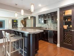 Bar Ideas For Kitchen by Interior Stunning Finished Home Bar Ideas For Basement With