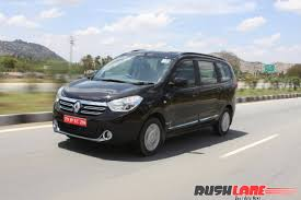 renault india renault india cuts price of lodgy to rival on maruti ertiga honda