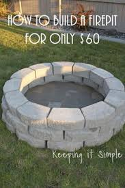 How To Build A Square Brick Fire Pit - my mother asked me to build her a brick fire pit that she had
