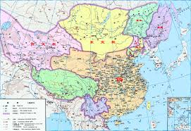 Map Of Ancient China by China History Maps 581 618 Sui