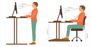 Standing At Your Desk Vs Sitting Why You Should Use A Keyboard Tray Uncaged Ergonomics