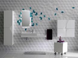 Bathroom Tile Decor Bathroom 8 Fascinating Futuristic Bathroom Wall Tile Decor One