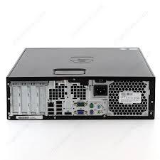ordinateur de bureau reconditionné achat pc reconditionné hp elite pro 8100 sous windows 10 pro