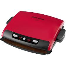 Sandwich Toaster With Removable Plates George Foreman 5 Serving Grill With Removable Plates Red
