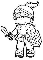 sword spirit coloring sheet moppets activities