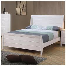 Cheap Sleigh Bed Frames White Bed Frame Size Webcapture Info
