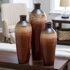 3 Vases Set Juniper Valley Vases Set Of 3 Hayneedle