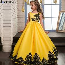 wedding occasion dresses kids girl formal occasion dress bridesmaid party event wedding