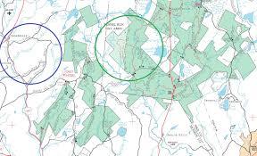 Harold Parker State Forest Map by Gone Hikin U0027 Bear Creek Preserve Pa Shades Creek