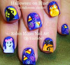 cute easy halloween nail designs