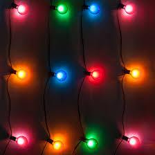 Christmas Patio Lights by Patio Lights Multicolor Satin Party Lights 33 G50 E12 Bulbs