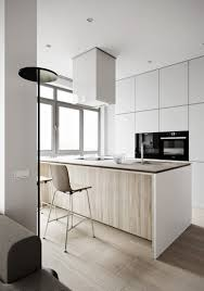 Neutral Colored Kitchens - minimalist apartment with a neutral color palette digsdigs