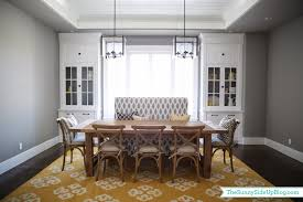 pictures of formal dining rooms dining room decor update bench chairs pillows the sunny side