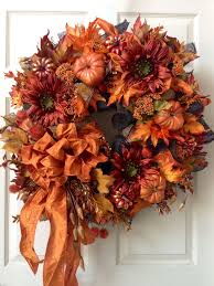 Thanksgiving Deco Mesh Wreaths 231 Best Fall Weaths Images On Pinterest Autumn Wreaths Holiday