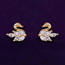 gold earring studs designs 918 best ear ring designs images on indian jewellery