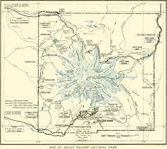 Map Of Washington Coast by Glaciers Of Washington Glaciers Of The American West