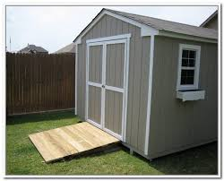 How To Build A Storage Shed Ramp by Building A Storage Shed Ramp Home Design Ideas