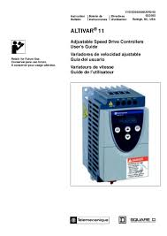 ac drive altivar 11 user manual