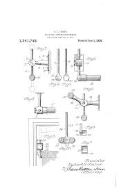 Properly Hanging Curtains Patent Us1341742 Adjustable Curtain Rod Bracket Google Patents