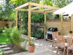 Backyard Small Garden Ideas Triyae Com U003d Terraced House Backyard Designs Various Design