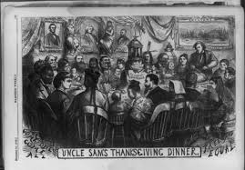 addams family thanksgiving scene inclusion and exclusion in two historic thanksgiving cartoons