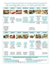bi weekly whole food meal plan for july 2 15 u2014 the better mom