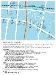 Map Direction Direction Four Points By Sheraton Bangkok