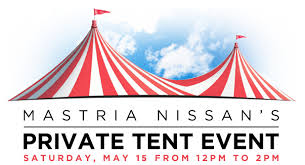 tent event mastria nissan tent event ma new and used car sales