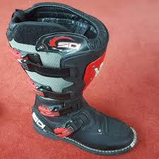 sidi motocross boots sidi motocross boots size 9 in langport somerset gumtree