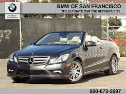 mercedes e class convertible for sale used mercedes e class for sale in san francisco ca edmunds