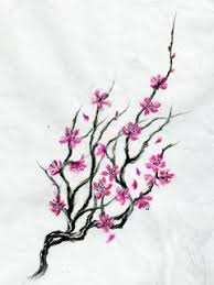 i want a cherry tree blossoming starting on my coming up my