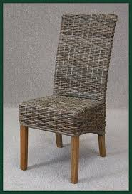 marli vintage rattan cafe kitchen dining chairs with cushion black