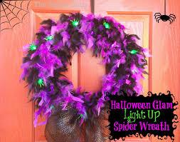 Halloween Wreath Tutorial by Halloween Glam Spider Wreath Tutorial The Tiptoe Fairy