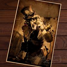 steampunk wall stickers promotion shop for promotional steampunk