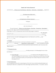 joint venture letter of intent template 28 images how to write