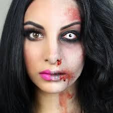 Tutorials By A Half Zombie Halloween Makeup Tutorial By Naseem D Preen Me
