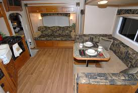 Rv Laminate Flooring Let The Big Times Roll Chalet Goes Big With Triple Slide Rv