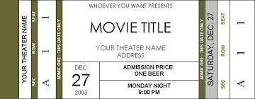 microsoft word ticket templates event ticket template templates