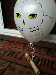 owl balloons harry potter party invitations the sue