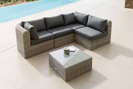 canapé de jardin en résine salon jardin résine tressée table et fauteuil de jardin trendsetter