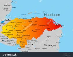 Map Of Roatan Honduras Honduras Map Pictures