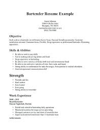 server resume exles bartending resume skills serving resume server bartender resume 9