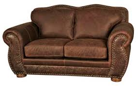 rustic sofas and loveseats western leather furniture rustic leather living room sofas