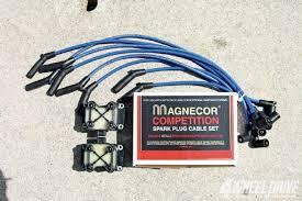 british partsset of magnecore 8mm silicone spark plug wires