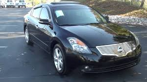 nissan altima black 2007 for sale 2007 nissan altima 3 5 se stk 20100b www lcford com