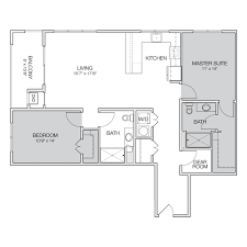 two apartment floor plans floor plan e2 greenbelt apartments